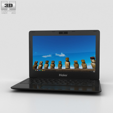 Haier Chromebook 11 Black 3D Model