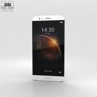 Huawei G8 White 3D Model