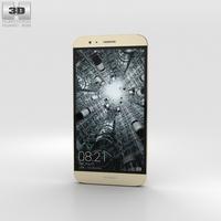 Huawei G8 Gold 3D Model