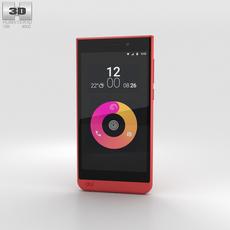 Obi Worldphone SJ1.5 Red 3D Model