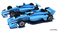 Indycar 2018 - Road + Oval model 3D Model
