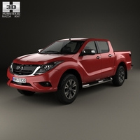 Mazda BT-50 Double Cab 2016 3D Model