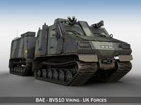 BAE BVS10 Viking 3D Model