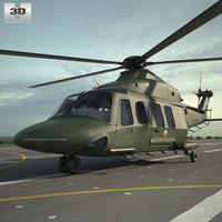 AgustaWestland AW139 3D Model
