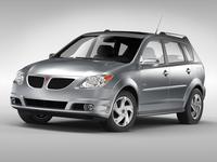 Pontiac Vibe (2003 - 2007) 3D Model
