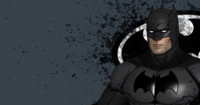Comic Style Batman 3D Model