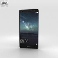 Huawei Mate S Titanium Grey 3D Model