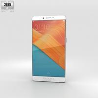 Oppo R7 Plus Silver 3D Model