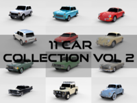 Car Collection Vol 2 3D Model