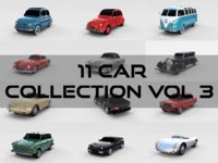 Car Collection Vol 3 3D Model