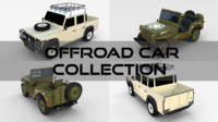 Offroad Car Collection 3D Model