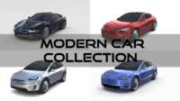 Modern Car Collection 3D Model