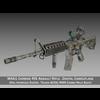 Colt M4A1 Sopmod ACOG Camouflage 3D Model