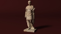 Caesar Statue 3D Model