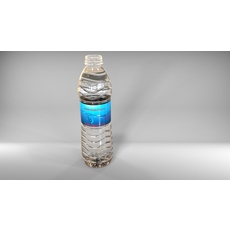500ml water bottle original model 3D Model