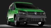 Volkswagen Caddy Panel Van L1 2017 3D Model