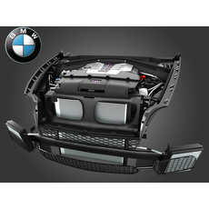 BMW X5M(E70) & X6M(E71) V8 Engine 2010-2014 3D Model
