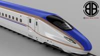 Shinkansen E7 3D Model