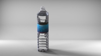 1500ml 1.5Litr water bottle with ready to print 3D Model