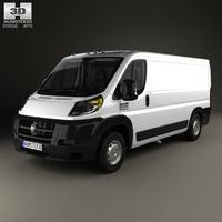 Dodge Ram ProMaster Cargo Van L2H1 with HQ interior 2013 3D Model