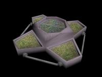 Model0001 Plant Pot 3D Model
