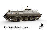 Jaguar 1 3D Model
