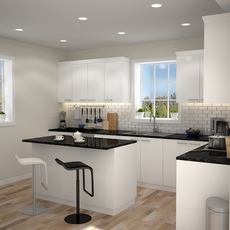 Kitchen Interior 01 3D Model