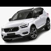 Volvo XC40 2018 3D Model