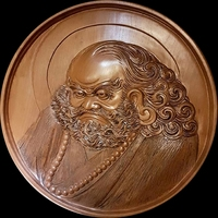 New s CNC 3d Print relief in STL file format Bodhidharma 3D Model