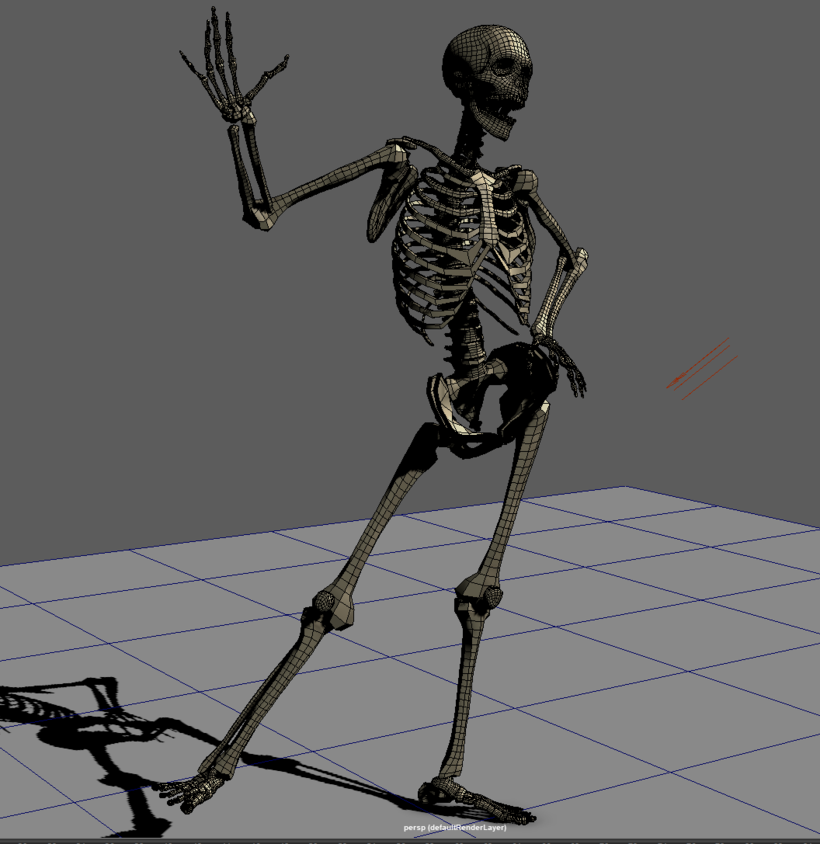 Skeleton Rig for Maya