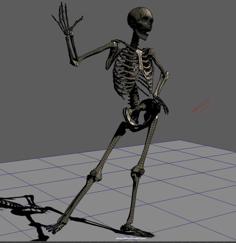 Maya Skeleton Rig