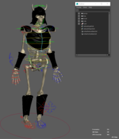 Skeleton Warrior 2.0.0 for Maya