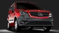 Mercedes Benz Citan Van L1 2017 3D Model