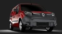 Renault Kangoo Maxi Van 2017 L3 2017 3D Model