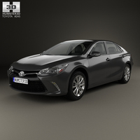 Toyota Camry Limited 2015 3D Model