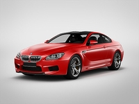 BMW M6 Coupe 2013 3D Model