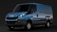 Iveco Daily Van 2014-2016 L1H1 3D Model
