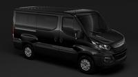 Iveco Daily Window Van L1H1 2017 3D Model