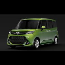 Daihatsu Thor 2017 3D Model