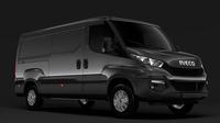 Iveco Daily Van 2014-2016 L2H1 3D Model