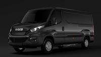 Iveco Daily Van L2H1 2017 3D Model