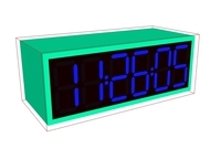 Electronic clock for Maya 1.0.0