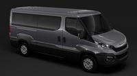 Iveco Daily Window Van  L2H1 2014-2016 3D Model