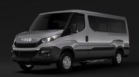Iveco Daily Window Van L2H1 2017 3D Model