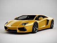 Lamborghini Aventador (LowPoly) 3D Model