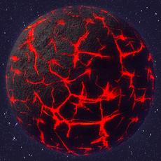 Nibiru Planet 3D Model
