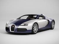 Bugatti Veyron (LowPoly) 3D Model