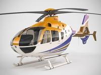 Eurocopter EC135 3D Model