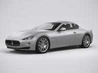 Maserati Granturismo 2014 3D Model