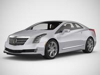 Cadillac ELR 3D Model